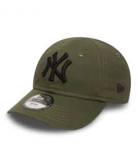 Casquette Nouveau-Né New Era New York Yankees Essential Olive Infant 9Forty