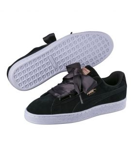 Chaussures Puma Suede Heart VR Noir Do You