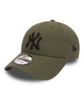 Casquette Incurvée New Era New York Yankees 9Forty Olive Noir