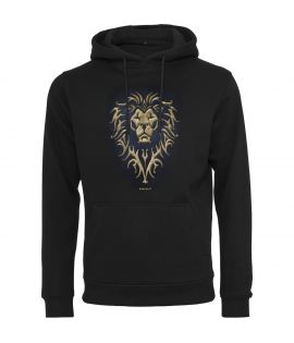 Sweat Capuche Mister Tee Warcraft Alliance Hoody Noir