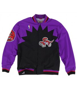 Veste Mitchell & Ness Toronto Raptors Authentic Warm Up 95-96 Hardwood Classics