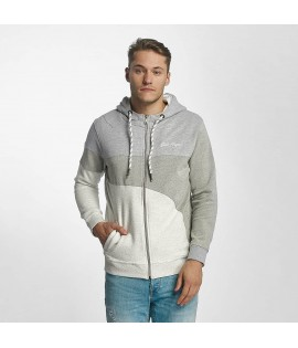 Sweat Zippé Capuche Just Rhyse / Rusher Gris