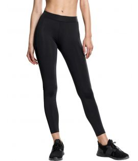 Legging Urban Classics Tech Mesh Stripe Noir