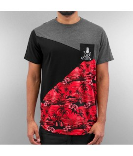 T-shirt Just Rhyse Alexander Noir Rouge
