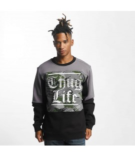 Sweat Thug Life Jumper New Life Noir
