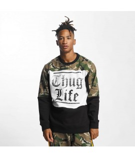Sweat Thug Life Jumper New Life Camouflage