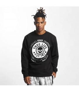 Sweat Thug Life Jumper Barley Noir
