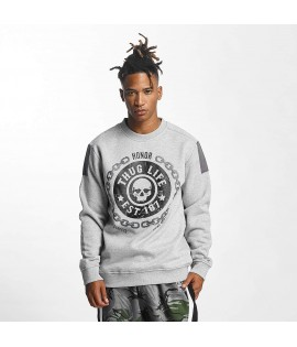 Sweat Thug Life Jumper Barley Gris