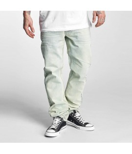 Jean Rocawear Straight Fit Relaxed Ice Washed Bleu Clair