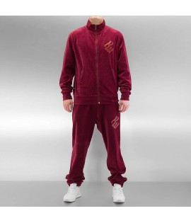 Survet Rocawear Suits Velours Bordeaux