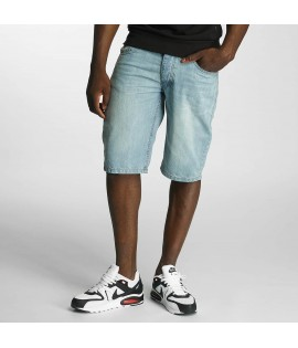 Short Denim Rocawear Relax Fit Bleu Délavé