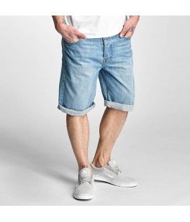 Short Denim Rocawear Relax Fit Bleu Clair