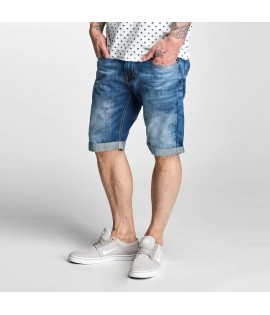 Denim Short Rocawear Relax Fit Bleu