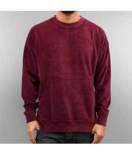 Sweat Capuche Rocawear Hoody Velours Bordeaux