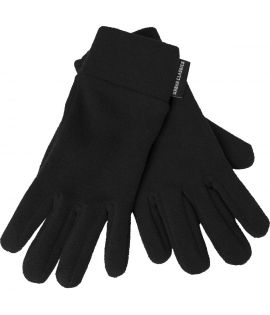 Gants Urban Classics Noir Polar Fleece Gloves