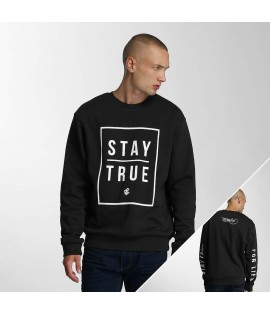 Sweat Rocawear Pullover Stay True Crewneck Noir