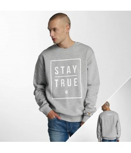 Sweat Rocawear Pullover Stay True Crewneck Gris