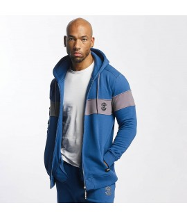 Sweat Zippé Thug Life Zip Hoody Bar Bleu
