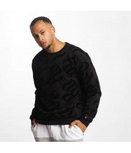 Sweat Rocawear Pullover Retro Velours Noir