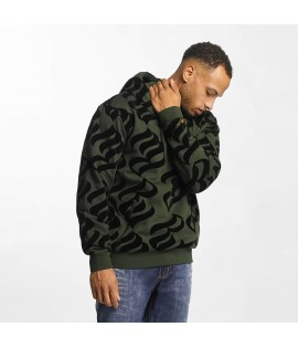 Sweat Capuche Rocawear Hoody Retro Velours Olive