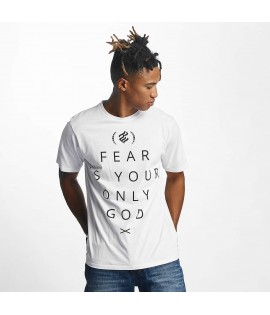 T-shirt Rocawear Group Script Blanc