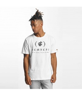 T-shirt Rocawear Group Flame Logo Blanc