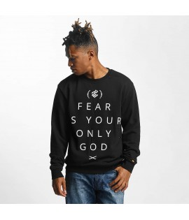Sweat Rocawear Pullover Group CrewNeck Noir