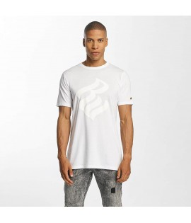 T-shirt Rocawear New York Flame Logo Blanc