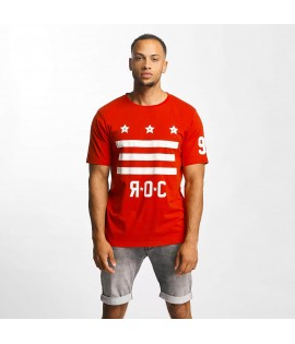 T-shirt Rocawear Brooklyn Rouge