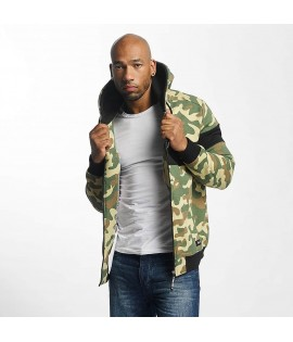 Sweat Zippé Thug Life Zip Hoodie Bar Camouflage