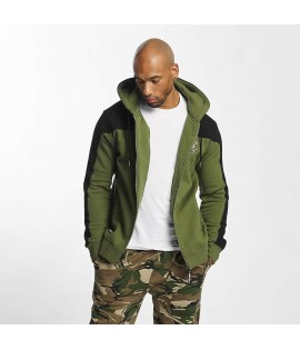 Sweat Zippé Thug Life Zip Hoody Crock Olive