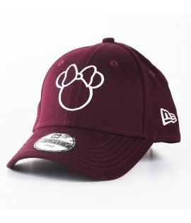 Casquette Bébé New Era Minnie Disney Silhouette Toddler 9Forty Bordeaux