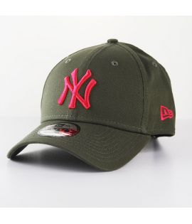 Casquette Incurvée New Era New York Yankees 9Forty Olive Rose