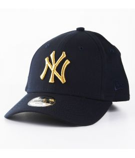 Casquette Adolescent New Era New York Yankees Bleu Marine Youth 9Forty