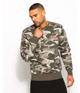 Sweat Ellesse Diveria Crew Camouflage Collection Ellesse Héritage
