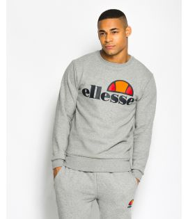 Sweat Ellesse Succiso Crew Gris Collection Ellesse Héritage