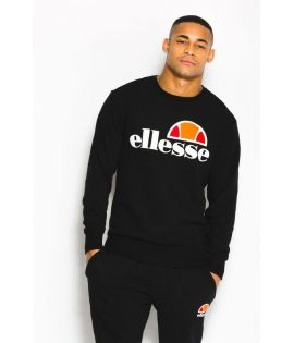 Sweat Ellesse Succiso Crew Noir Collection Ellesse Héritage