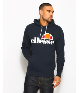 Sweat Capuche Ellesse Gottero Hoody Bleu Marine Collection Ellesse Héritage