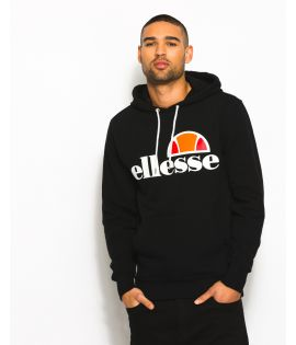 Sweat Capuche Ellesse Gottero Hoody Noir Collection Ellesse Héritage