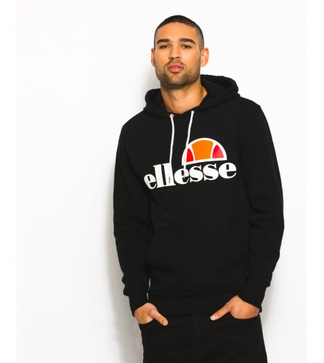 sweat capuche ellesse gottero hoody noir collection ellesse heritage prestige center. Black Bedroom Furniture Sets. Home Design Ideas